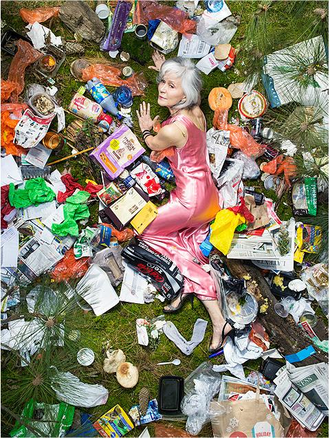 Gregg Segal - 7 days of garbage - 7 jours de déchets