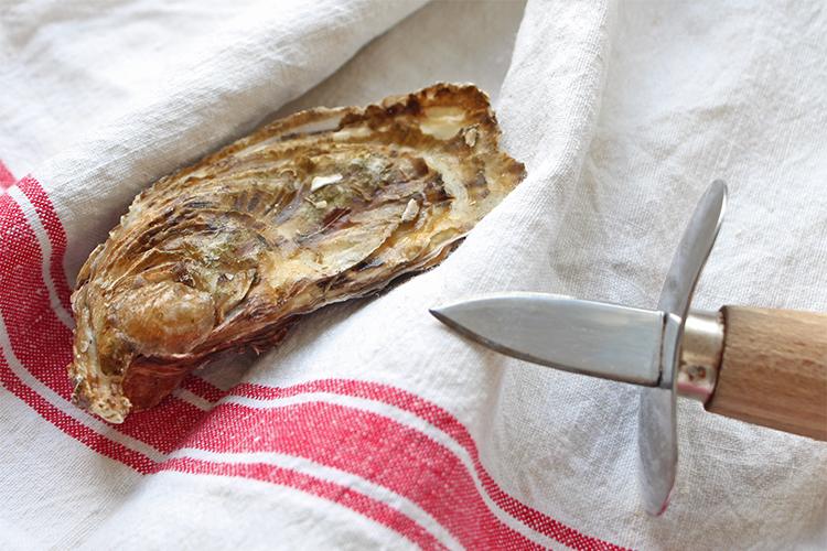 huître et couteau à huître