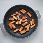 Tofu mariné à la sauce soja et au gingembre grillé