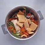 Bouillon aux croûtes de parmesan