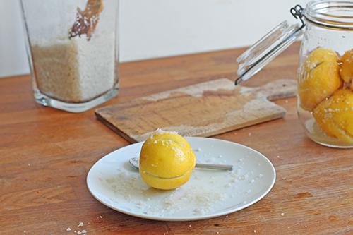 Citrons confits au sel - Citrons lacto-fermentés