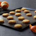 biscuits sans gluten à la polenta et à l'orange