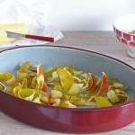 Chips d'épluchures de pommes au beurre salé