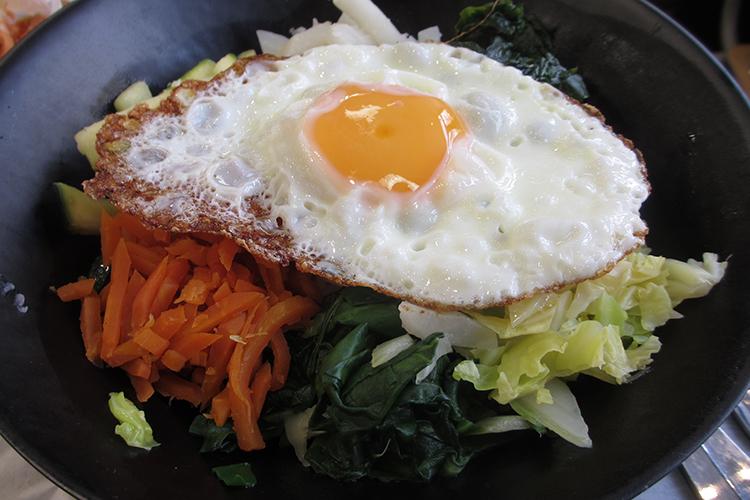 Bibimbap plat coréen