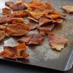 chips de pita au paprika
