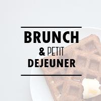 Recettes pour le brunch ou le petit déjeuner