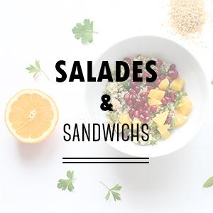 Recettes de salades et de sandwichs