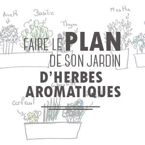 Faire le plan de son jardin d'herbes