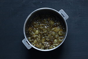 tomates vertes pour une confiture antigâchis