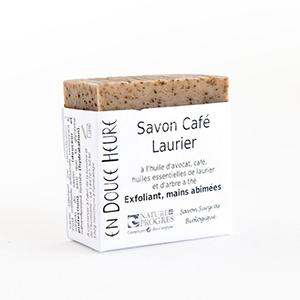 savon-biologique-cafe-laurier