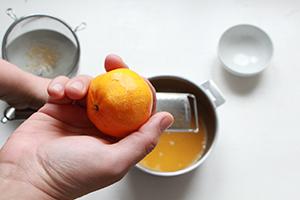 sorbet mandarine sans sorbetière
