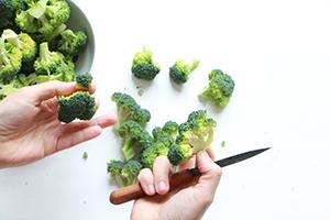 Préparer du brocoli