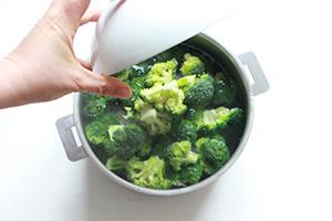 Faire cuire du brocoli