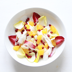 Salade d'endive et céleri à l'orange