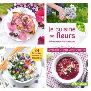 Livre Je cuisine les fleurs